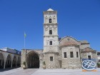 Pašā Larnakā atrodas Sv. Lācara baznīca. Baznīca ir viens no iespaidīgākajiem Biznatijas arhitektūras piemēriem Kiprā. Baznīcas pagrabā atrodas Bībele 12