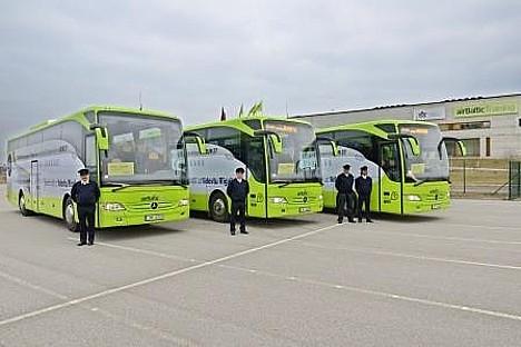 Į Rygos oro uostą iš Šiaulių keleivius jau veža nemokami «airBaltic» autobusai