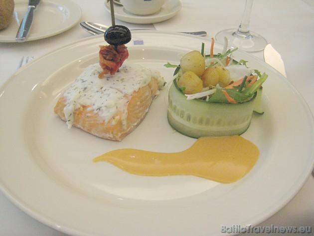 Eiropas Parlamenta virtuvē gatavotie ēdieni ir vienkārši, daudzpusīgi, garšīgi un skaisti noformēti 32516