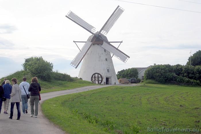 Jervas apriņķī Seidla ciemā apmeklētājus gaida Igaunijas vienīgās darba kārtībā esošās Holandes vējdzirnavas 47133