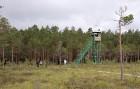 Purva malā ir izveidots 8 metrus augsts skatu tornis 10