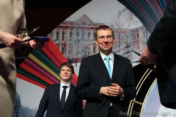 Tūrisma izstādes «Balttour 2012» fotohronika - Atklāšanas ceremonija. Foto: Juris Ķilkuts (www.Fotoatalje.lv) 71537