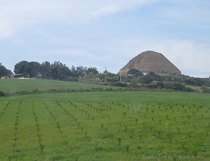 Labi saglabājies Mauzolejs atrodas vairākus kilometrus uz austrumiem no Tipazas 93339